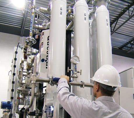 Helium recycling unit
