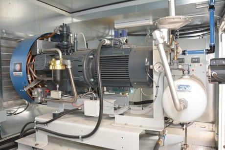 Polycontrols Compressor Inside