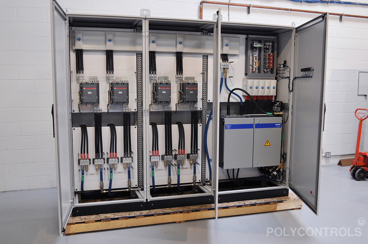 Switchover for Thermal Plasma Spray System 4 Guns